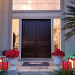 Install and Paint Double French Doors