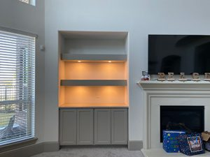 Bookshelf Addition and Paint